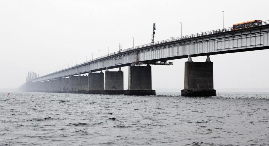 Arkivfoto: Et italiensk konsortium har fået opgaven med at bygge en ny Storstrømsbro. Den skal stå færdig i 2022.