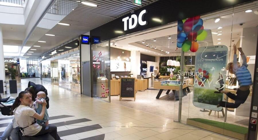 Udenlandske investorer køber op i danske TDC. Arkivfoto: Kim Haugaard, Scanpix