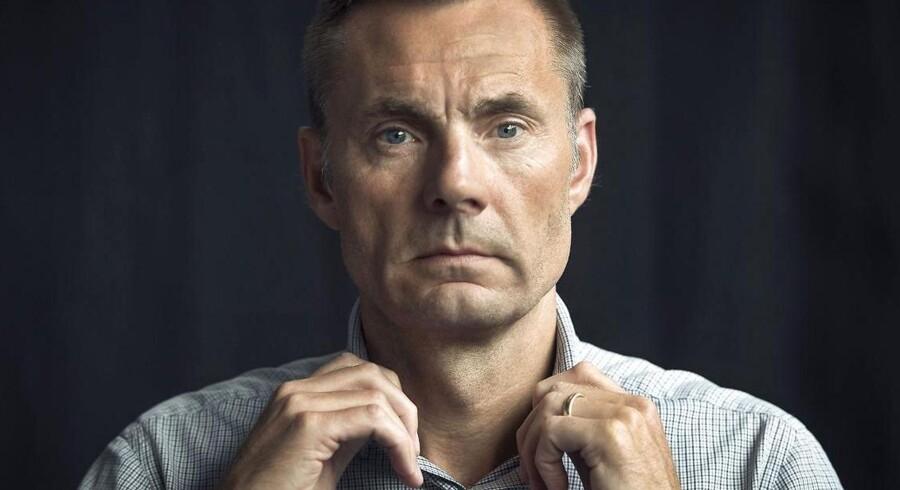 Brøndbys mæcen, Jan Bech Andersen. Arkivfoto.