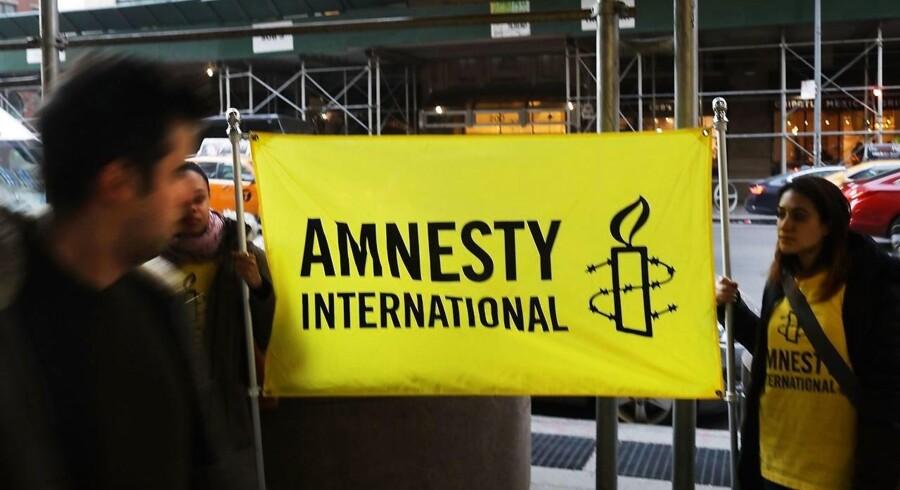 Arkivfoto. Dansk overvågningsteknologi må ikke havne i de forkerte hænder, så der skal strammes op, siger Amnesty.
