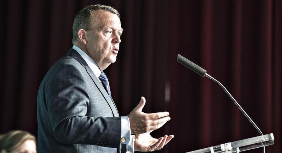 Statsminister Lars Løkke Rasmussen (V) krævede bedre sammenhæng i sundhedsvæsenet, da Danske Regioner holdt generalforsamling i Aarhus.