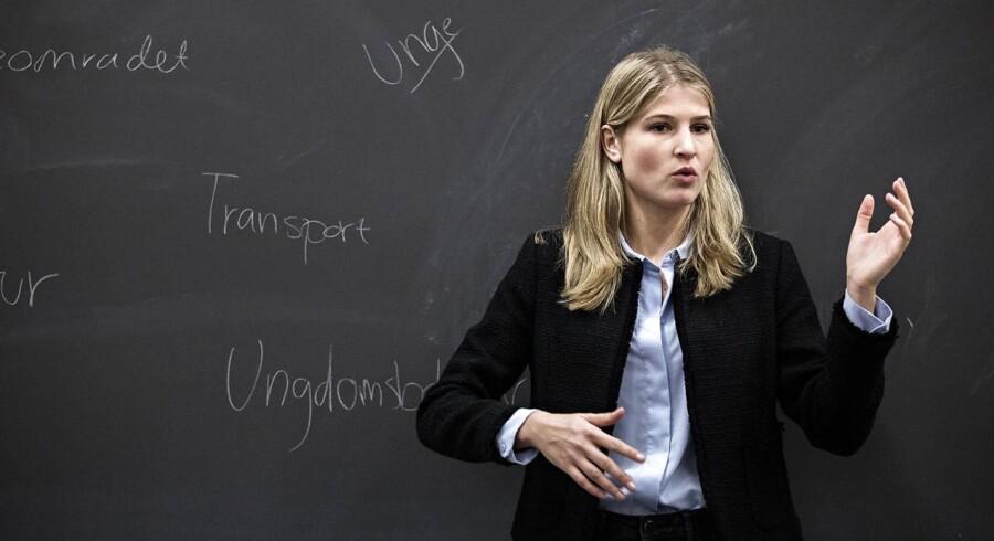 Holbæks nye borgmester, Christina Krzyrosiak Hansen, vippede langt ældre og mere erfarne kandidater af pinden.