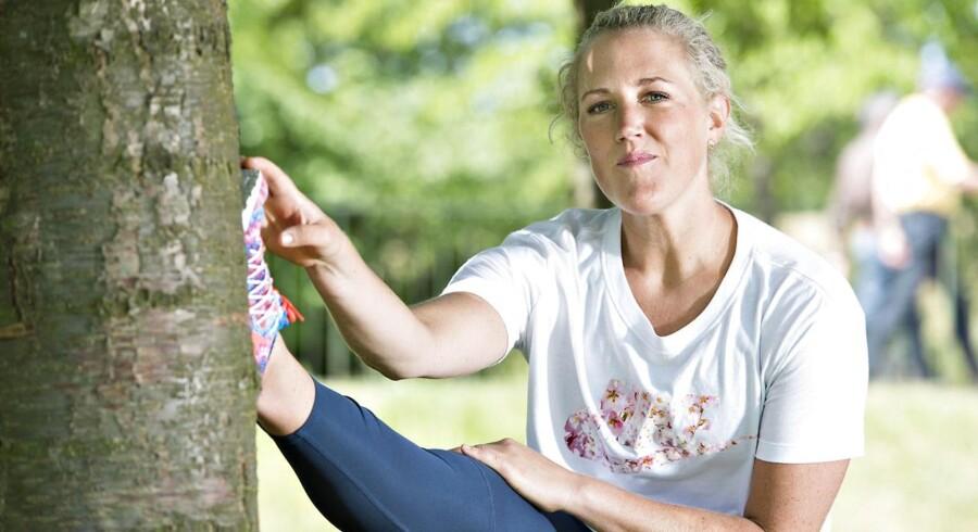 Motionsekspert Michelle Kristensen anbefaler, at man træner fire til fem gange om ugen. Heraf skal de tre gange være med høj intensitet.