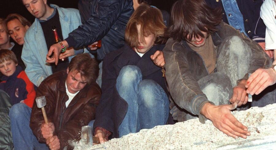 Murens fald i 1989 blev et afgørende vendepunkt for Hans Mortensen.