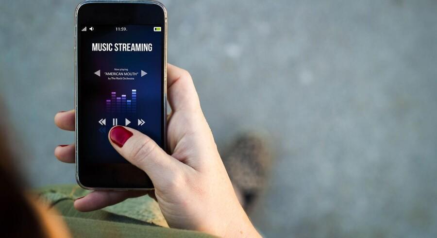 Indtægterne fra musikstreaming vil stige.
