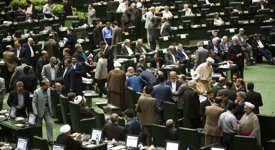 Det iranske parlament (arkivfoto).