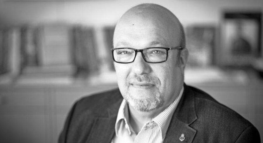 Kim Østerbye, formand for Fængselsforbundet. PR-foto. Fotograf Nicolai Perjeci.