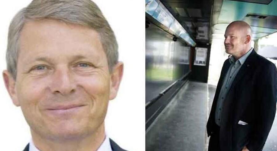 Tv: Thomas Møller: Th: Teknik- og Miljøborgmester Morten Kabell, Enhedslisten.