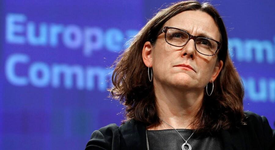 Medvinden til Le Pen og Mélenchon skyldes ifølge EUs handelskommissær, Cecilia Malmström (foto), at mange franskmænd føler sig som tabere i globaliseringen.