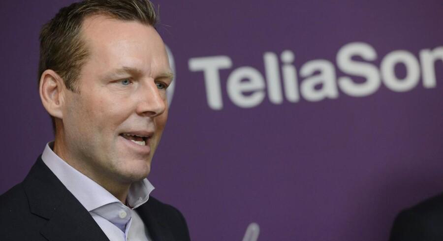 Telias topchef siden september, Johan Dennelind, fortsætter oprydningen i en af verdens ti største mobilselskaber. Arkivfoto: bertil Eneväg Ericson, Reuters/Scanpix