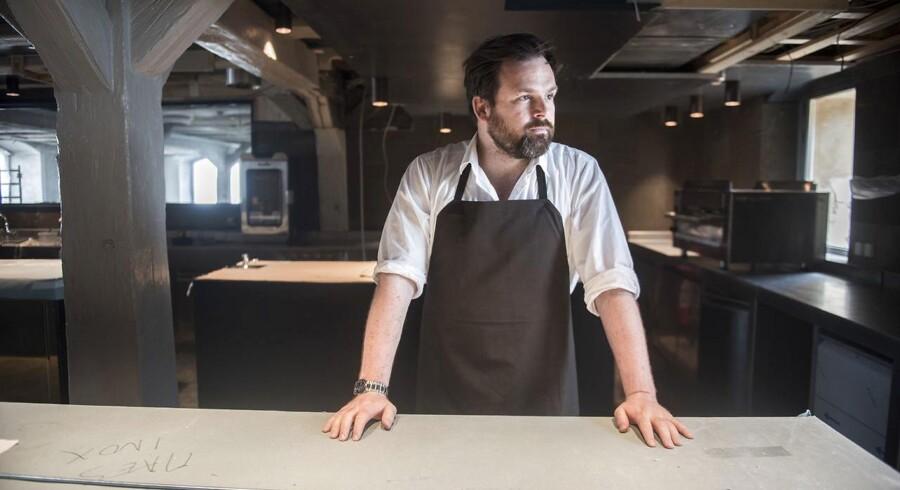 Portræt af Thorsten Schmidt, som er kok på Noma.De åbner den tredje restaurant i de gamle lokaler ved strandgade 93.