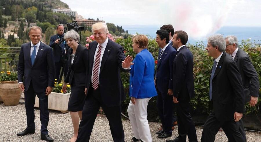 Strid om klima gjorde G7-topmøde stormfuldt