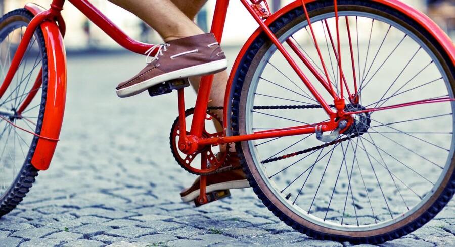 Stockfoto: Tag cyklen på arbejde, hvis du har dit liv kært. Ny forskning viser, at den daglige cykeltur nedsætter risikoen for kræft, hjertesygdom og tidlig død med næsten 50 procent.