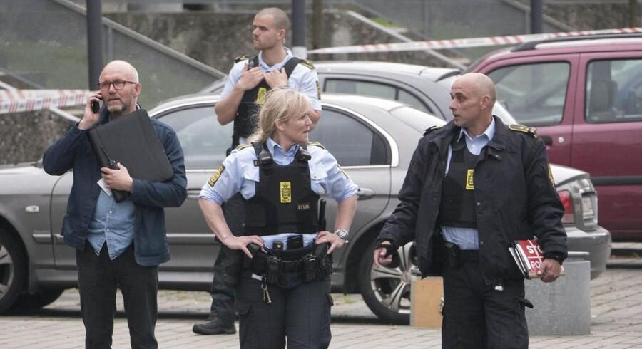 Arkivfoto. Betjente frygter rejsekaos med vestdansk politiskole i 2018 (Foto: Nils Svalebøg/Scanpix 2017)