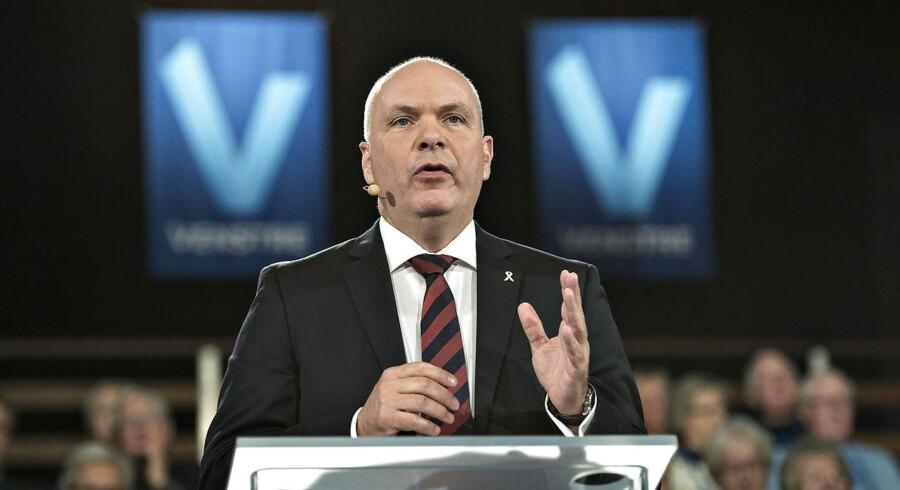Arkivfoto. Søren Gade står fast på, at han ikke mener, regeringen fører Venstre-politik.