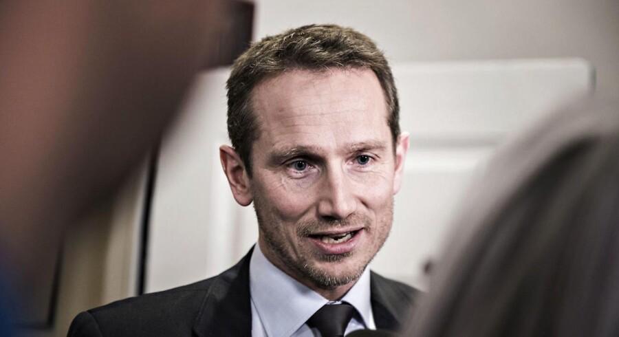 Arkivfoto: Finansminister Kristian Jensen (V).