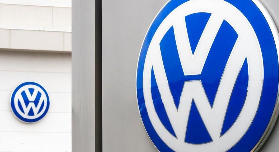 Volkswagens overskud overrasker. Arkivfoto.