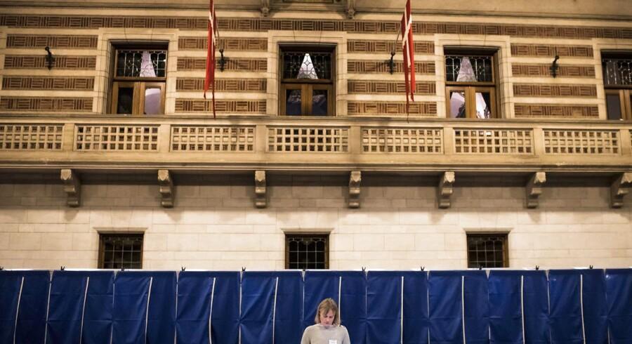 »Der er altså ikke ført en anstændig borgerlig politik.« Arkivfoto fra stemmeoptælling på Københavns Rådhus.