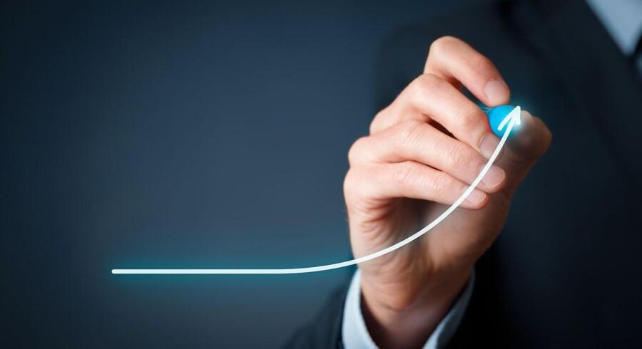 Arkivfoto. Forbrugertilliden stiger markant fra december til januar efter fire måneder med faldende tillid.