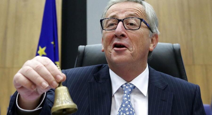 Præsident for EU-Kommissionen, Jean-Claude Juncker.