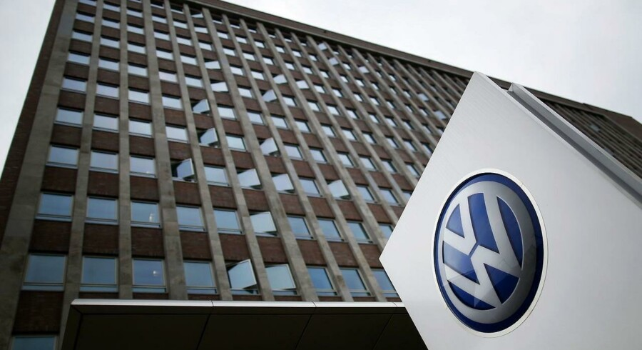 Volkswagen-chef står til fængsel for snydesoftware. / AFP PHOTO / RONNY HARTMANN