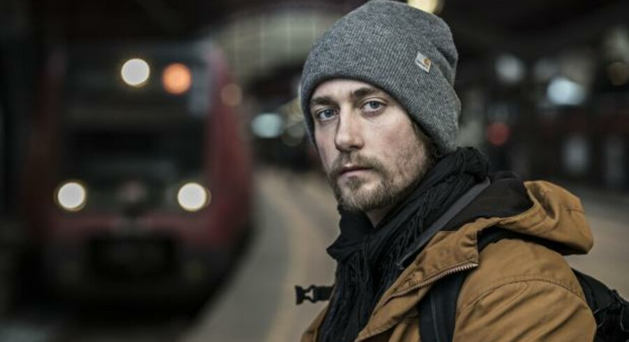Den 31-årige fotograf Toke har dokumenteret »52 dage som hjemløs« i DR-dokumentar-serien af samme navn.
