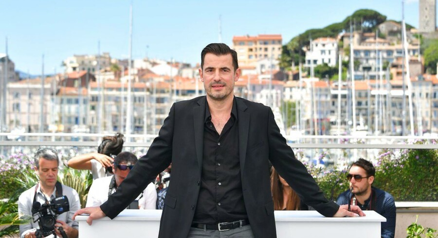(ARKIV) Skuespiller Claes Bang til filmfestival i Cannes med filmen The Square den 20. maj 2017.