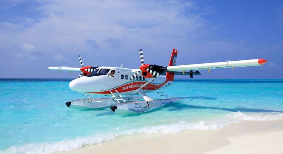 Foto fra Trans Maldivian Airways' hjemmeside.