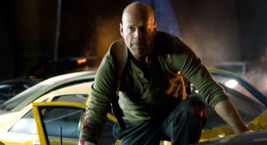 Bruce Willis som John McClane i »Live Free or Die Hard«.