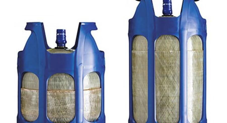 Gasflasker af typen Compolite CS fra Primagaz tilbagekaldes, fordi de i flere tilfælde er eksploderet. Free/Arbejdstilsynet