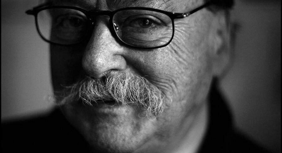 Den tidligere redaktør og TV2's første direktør, Jørgen Schleimann, er død efter længere tids sygdom. Arkivfoto.