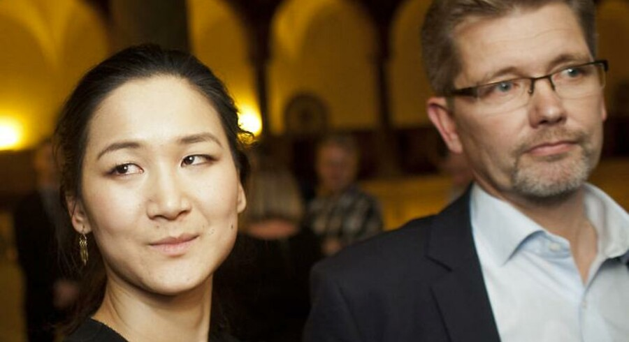 Københavns beskæftigelses- og integrationsborgmester Anna Mee Allerslev (R) og overborgmester Frank Jensen (S)