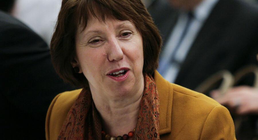 EUs udenrigspolitiske chef, Catherine Asthon.