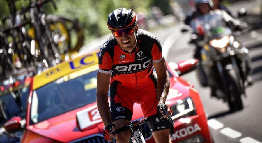 Belgieren Greg Van Avermaet fra gårsdagens etapé.