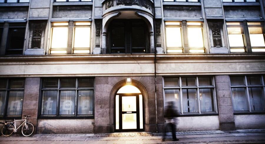 Jobcenter i Farvergade 10 tæt på Københavns Rådhus.