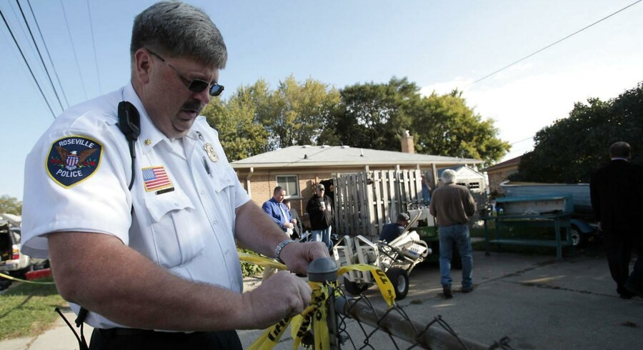 I 37 år har ingen set den tidligere fagforeningsboss Jimmy Hoffa, men nu leder FBI efter hans lig på denne grund i Michigan.