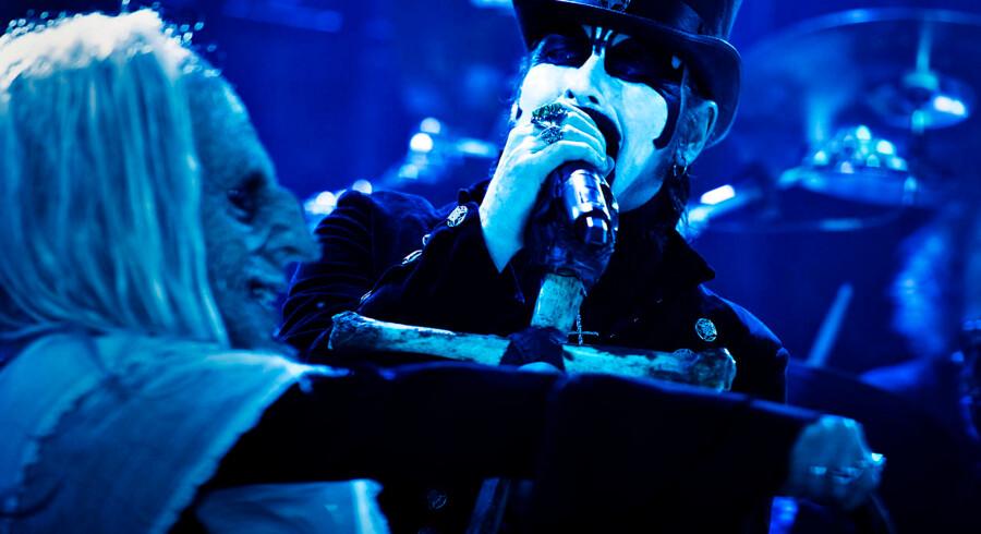 King Diamond fotograferet på metalmusikfestivalen Copenhell på Refshaleøen i København fredag den 24. juni 2016.