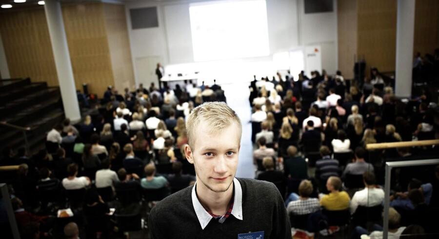 Jeppe Hallgren skal studere computerscience på The University of Cambridge. Han er en af de unge danske studerende, der har fået hjælp til at søge uddannelse i udlandet ved Nordic Study Abroad Conference.