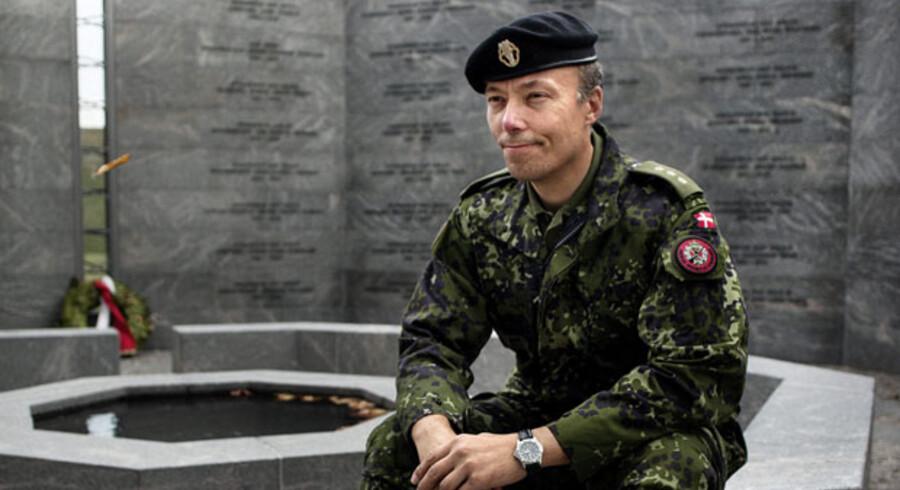Torben Rønne, kaptajn og ansat i Hærens Operative Kommando, oplevede så voldsomme ting i Afghanistan, at det var ved at knække ham efter hjemkomsten i Danmark.