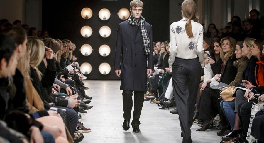 Bruuns Bazar viste deres kollektion frem ved Copenhagen Fashion Week tidligere på året.