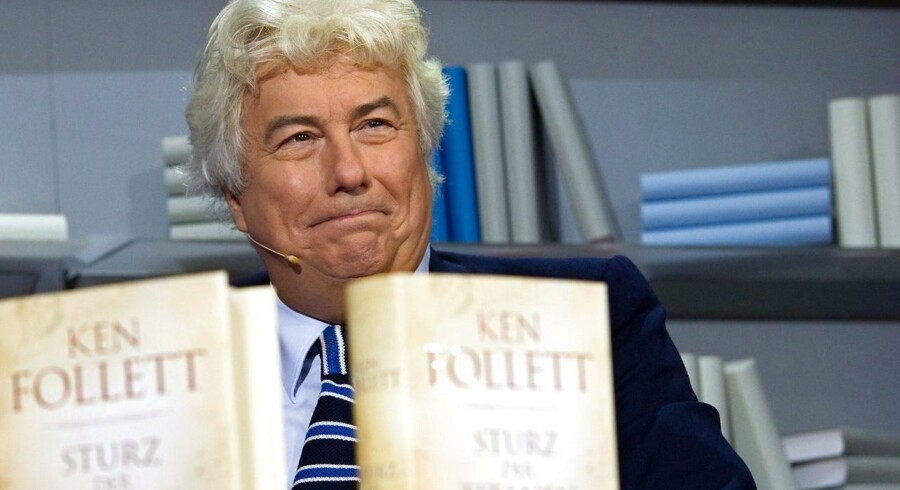 Ken Follet med første bind i romantrilogien om det 20. århundrede.
