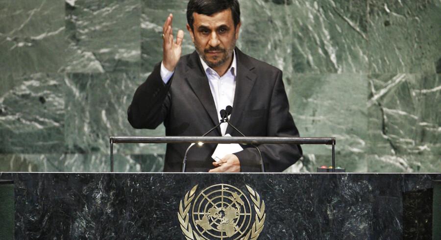 Iransk præsident, Mahmoud Ahmadinejad.