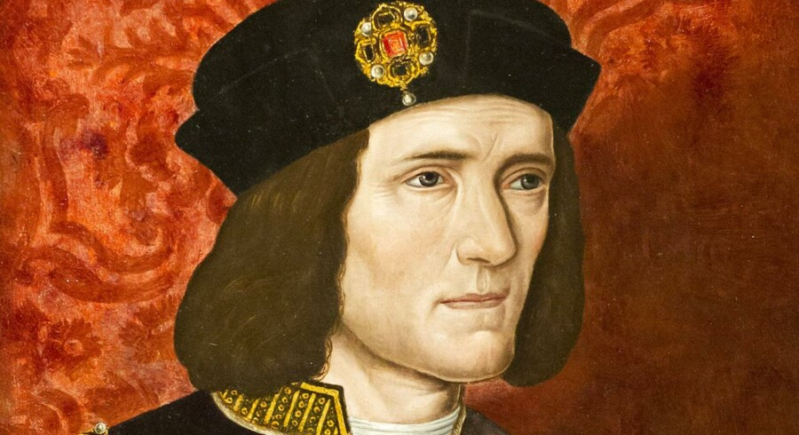 Kong Richard III regerede England i middelalderen, men nåede kun at sidde på tronen i to år, før han blev dræbt i kamp.