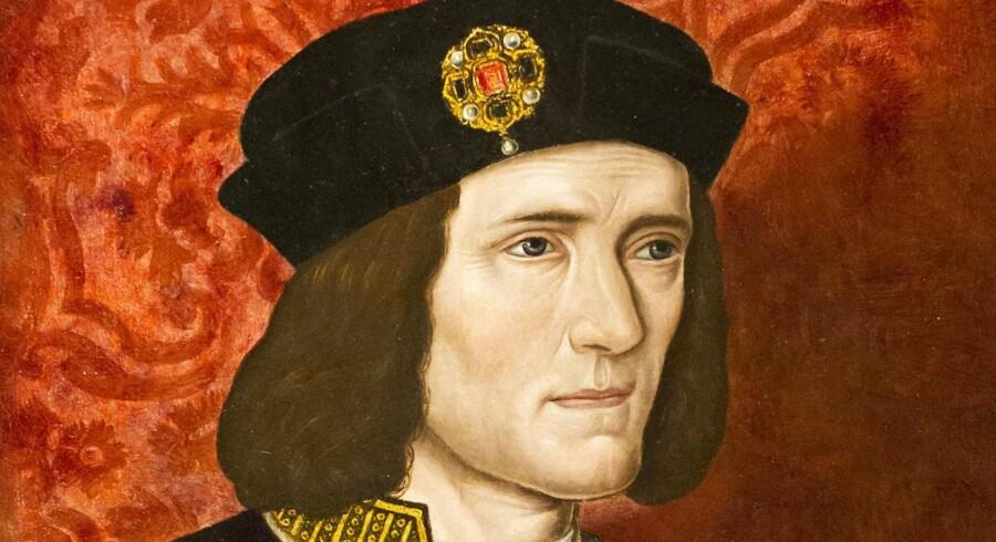En ukendt maler kreerede dette portræt af den nu fundne konge i det 16. århundrede. Billedet findes på National Portrait Gallery i London.