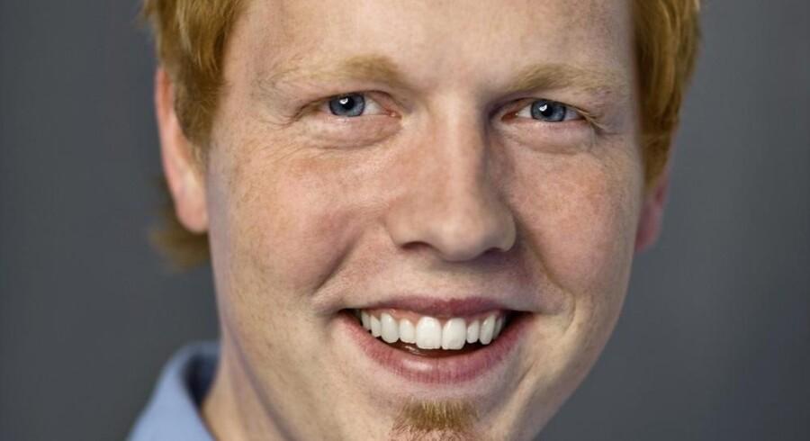 Benjamin Rud Elberth, digital chef hos GeelmuydenKiese.