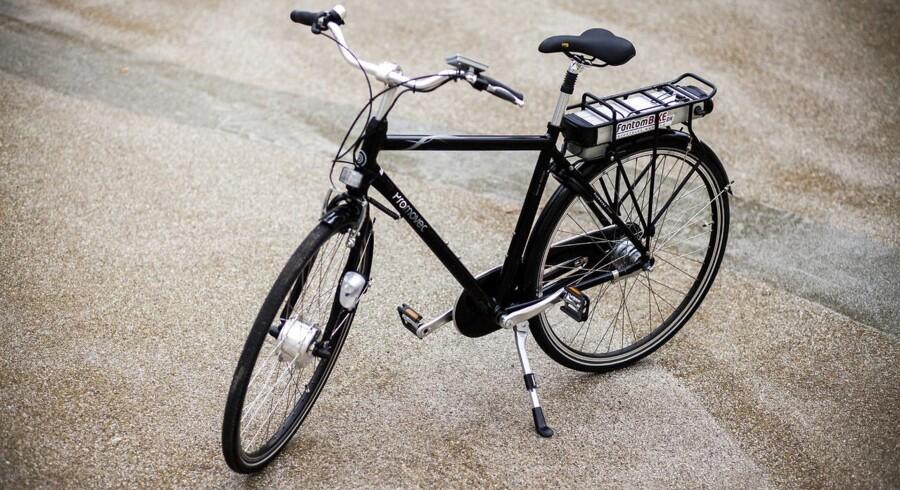Fra at være et lettere obskurt transportmiddel, hjælper elcykler - som denne - nu købere til at undgå andre pinagtigheder, fortæller direktør i den succesfulde forhandlerkæde Fri BikeShop, Morten Kold.
