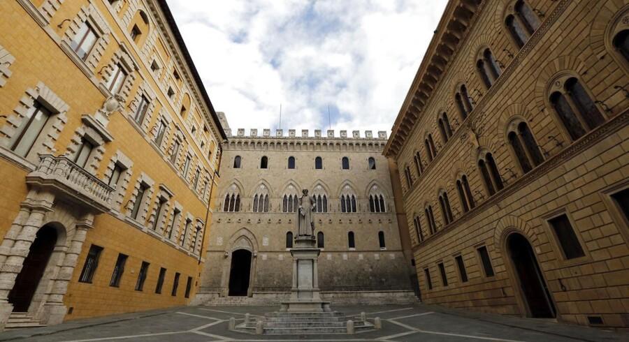 Verdens ældste bank, Monte Paschi, har ligget i Siena siden 1472.