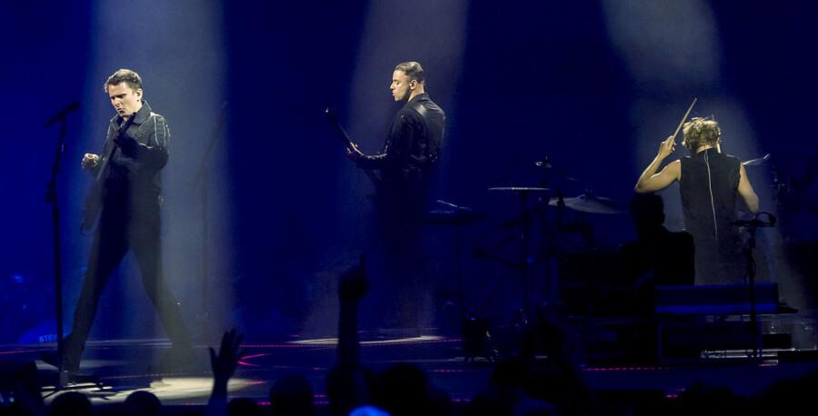 Det engelske band Muse på scenen i Forum i København onsdag 8. juni 2016