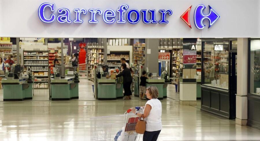 Den enorme franske detailkæde Carrefour, der er verdens næststørste efter amerikanske Walmart, kom ud af første kvartal med et salg, der var lige i øjet i forhold til markedets forventninger.