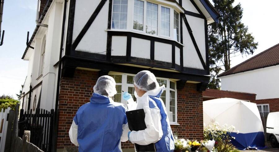 Familiens hus i Surrey.